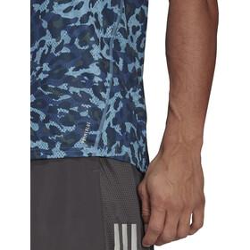 adidas Primeblue SS Tee Men, hazy blue